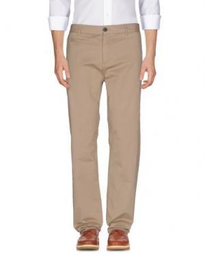 Повседневные брюки ONTOUR. Цвет: бежевый