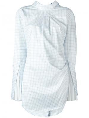 Свободная блузка Jacquemus. Цвет: синий
