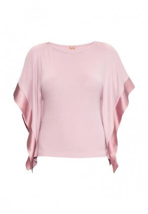 Футболка домашняя Petit Pas. Цвет: розовый