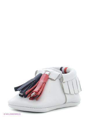 Пинетки U.S. Polo Assn.. Цвет: белый