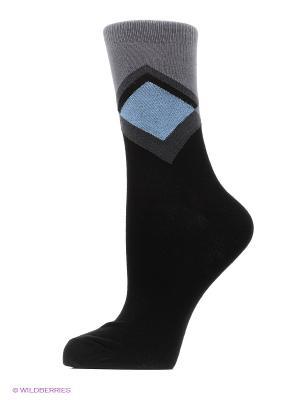Носки, 2 шт Хох. Цвет: серый