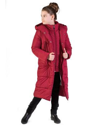 Пальто babyAngel. Цвет: красный