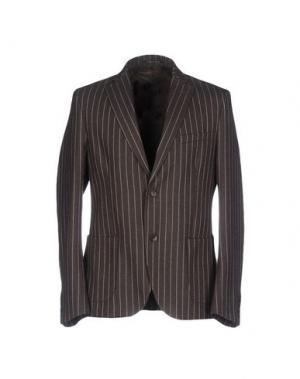 Пиджак GUYA G.. Цвет: темно-коричневый