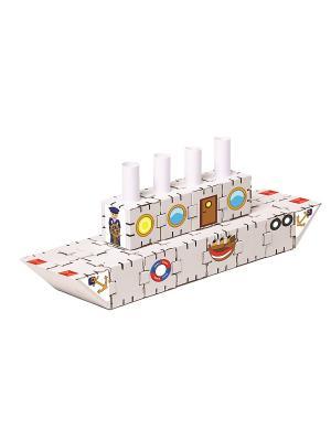 Конструктор Йохокуб. Титаник Yohocube. Цвет: бежевый