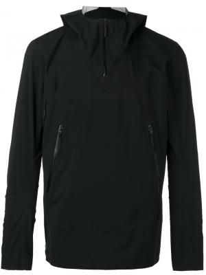 Куртка на молнии с капюшоном Arcteryx Veilance Arc'teryx. Цвет: чёрный