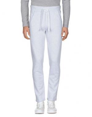 Повседневные брюки CONVERSE. Цвет: светло-серый