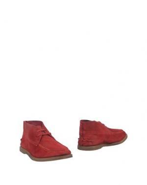 Полусапоги и высокие ботинки WEXFORD. Цвет: красный