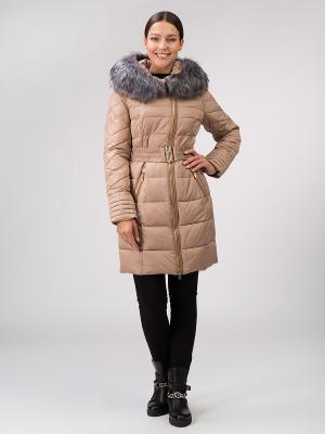 Пальто OSTRICH. Цвет: бежевый