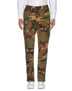 Повседневные брюки MATIX. Цвет: зеленый-милитари