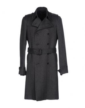 Пальто COSTUME NATIONAL HOMME. Цвет: свинцово-серый