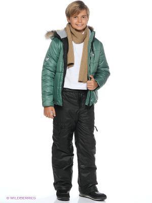 Куртка Моисей Батик. Цвет: зеленый