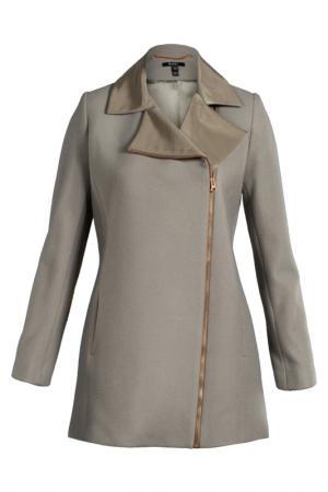 Пальто женское BAUKJEN BY ISABELLA. Цвет: серый