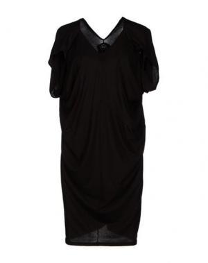 Короткое платье MICHIKO KOSHINO. Цвет: черный