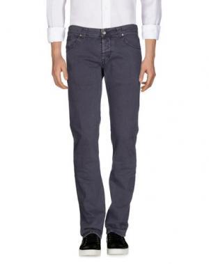 Джинсовые брюки DONDUP. Цвет: темно-фиолетовый