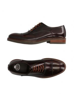 Обувь на шнурках BRAWN'S. Цвет: какао