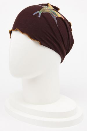 Повязка Lak Miss. Цвет: темно-коричневый