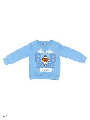 Свитшот Sago Kids i Ant Domain. Цвет: голубой