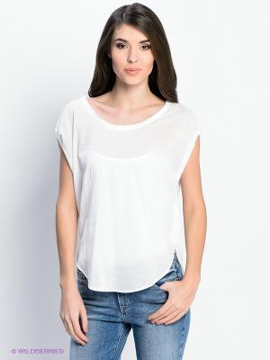 Блузка Levi's®. Цвет: белый