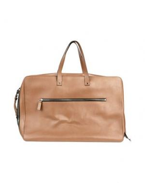 Дорожная сумка VALENTINO GARAVANI. Цвет: коричневый