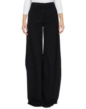 Джинсовые брюки FEDERICA TOSI. Цвет: черный