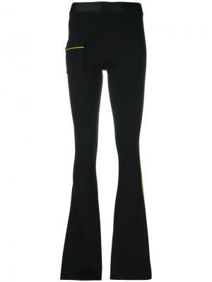 Slim fit flared trousers Ssheena. Цвет: чёрный