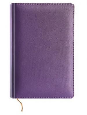 Ежедневник недатированный, кожзам, А5 фиолетовый, Perfecto, 288л Maestro de Tiempo. Цвет: фиолетовый