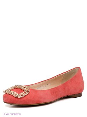 Балетки Calipso. Цвет: розовый