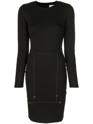 Платье Murmur. Цвет: чёрный