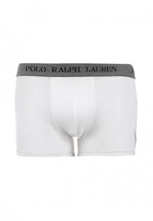 Трусы Polo Ralph Lauren. Цвет: белый