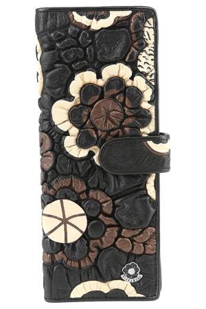 Визитница Fiora More. Цвет: черный