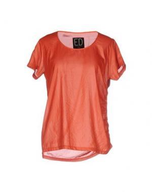 Блузка ED 2.0. Цвет: оранжевый
