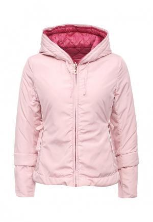 Куртка утепленная Adrixx. Цвет: розовый