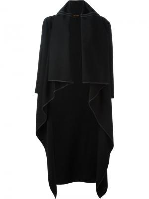 Пальто с воротником-шалькой Comme Des Garçons Vintage. Цвет: чёрный