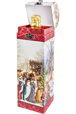 Новогодняя упаковка Mister Christmas. Цвет: белый, красный