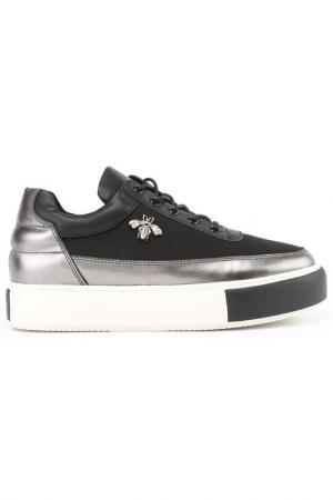 Ботинки NURIA. Цвет: черный никель, черный