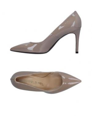 Туфли GIANCARLO PAOLI. Цвет: светло-коричневый