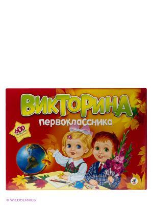 Игра Викторина первоклассника Дрофа-Медиа. Цвет: красный, желтый