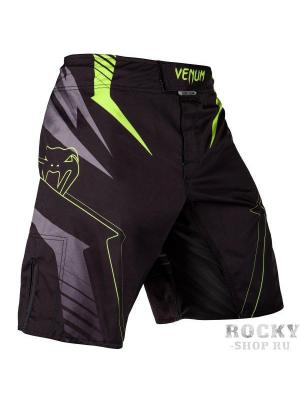 Шорты ММА Venum Sharp 3.0 Black/Neo Yellow. Цвет: черный, желтый