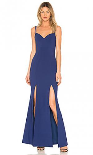 Вечернее платье alameda LIKELY. Цвет: синий