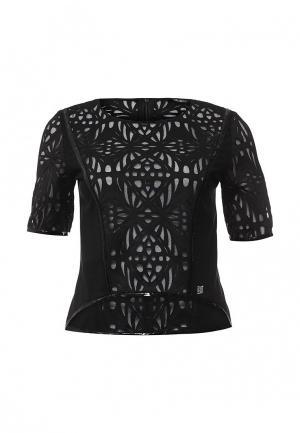 Блуза Byblos. Цвет: черный