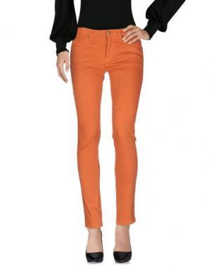 Повседневные брюки LUMBERJACK. Цвет: ржаво-коричневый