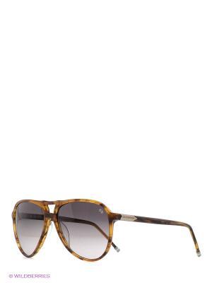 Очки солнцезащитные LM 545S 04 La Martina. Цвет: коричневый