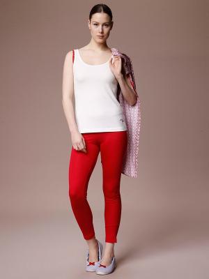 Домашний костюм RELAX MODE. Цвет: красный