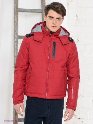 Куртка Think Pink. Цвет: красный
