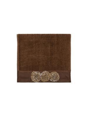 Полотенце для рук Chic AVANTI. Цвет: коричневый