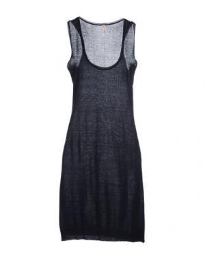 Короткое платье WETPAINT. Цвет: темно-синий