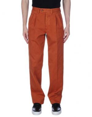 Повседневные брюки ROTASPORT. Цвет: ржаво-коричневый