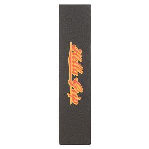 Шкурка для скейтборда  Formula G-Heavy Grit Classic Logo Harvest Gravy Black Hella Grip. Цвет: черный
