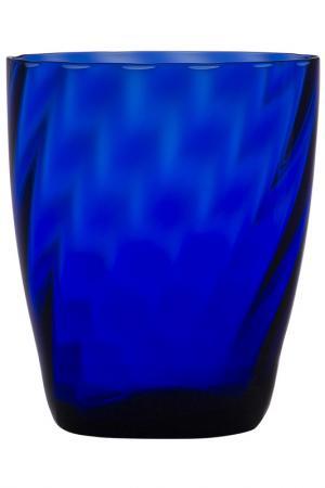 Бокал для сока и воды Zafferano. Цвет: синий
