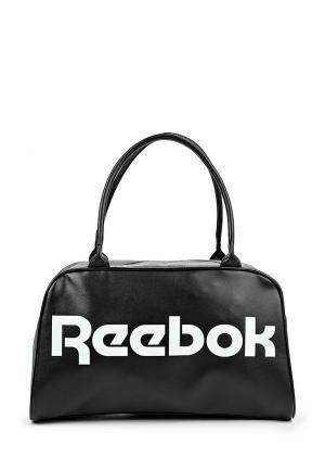 Сумка спортивная Reebok Classics. Цвет: черно-белый